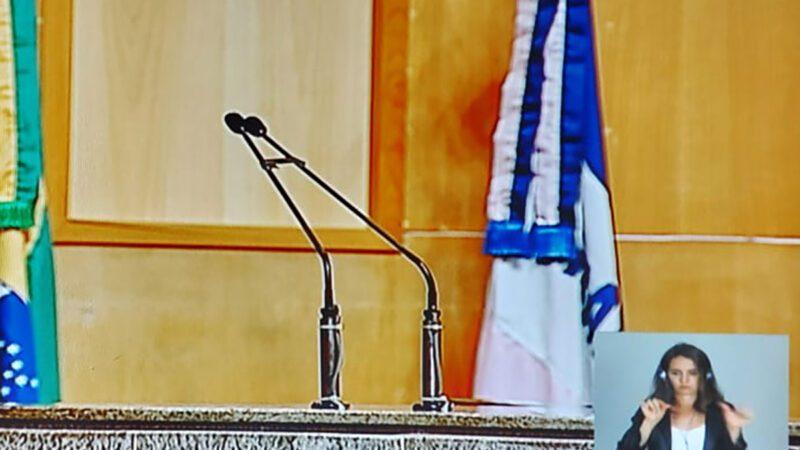 TV Assembleia terá transmissão em Libras