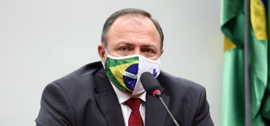 Ministro da saúde afirma que Brasil rapidamente será o 2º país com mais vacinados no Ocidente