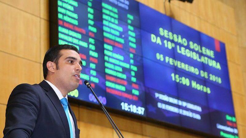 Erick Musso é reeleito como presidente da Assembleia Legislativa