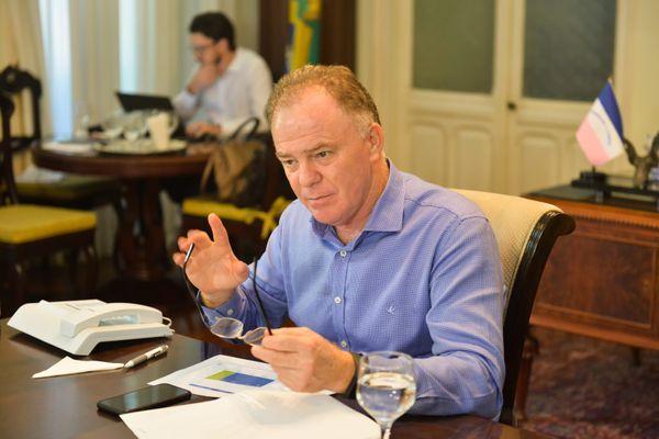 Governo do ES se reúne com novas empresas de gás e petróleo que irão operar no Estado