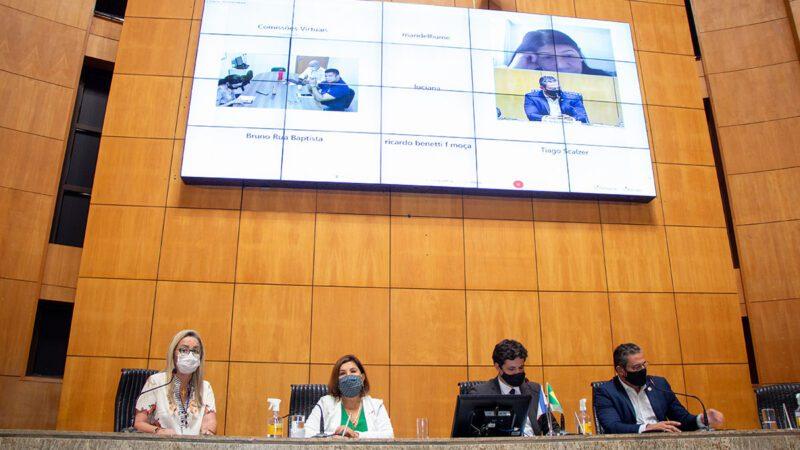 Setor de eventos na pandemia é tema de discursão na Ales