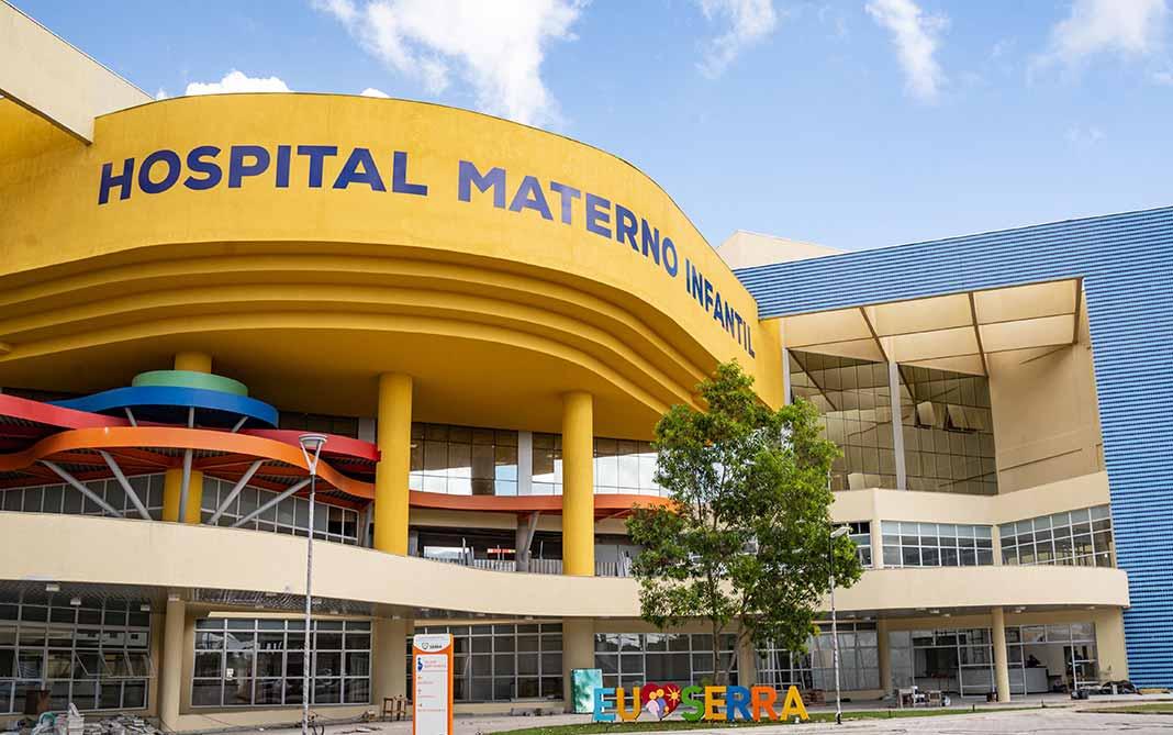 Novo Hospital Estadual na Serra começa a receber pacientes com Covid-19