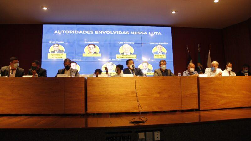 Frente Parlamentar do Terreno de Marinha é lançada com coalizão de autoridades contra irregularidades